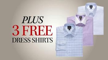 JoS. A. Bank TV Spot, 'December: BOG3 Suits + Three Dress Shirts' - Thumbnail 6