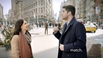 Match.com TV Spot, 'Match on the Street: Over 25,000 People Join Every Day' - Thumbnail 1
