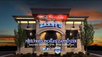Zaxby's Free Zappetizer TV Spot, 'Heart of Dallas Bowl' - 11 commercial airings