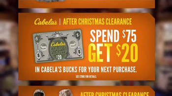 Cabela's After Christmas Clearance TV Spot, 'Stock Up on Winter Gear' - Thumbnail 4