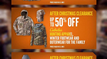 Cabela's After Christmas Clearance TV Spot, 'Stock Up on Winter Gear' - Thumbnail 5