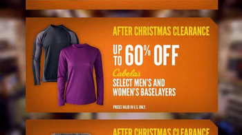 Cabela's After Christmas Clearance TV Spot, 'Stock Up on Winter Gear' - Thumbnail 6