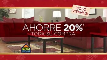 Ashley Furniture Homestore TV Spot, 'Época de los Ahorros' [Spanish] - Thumbnail 4