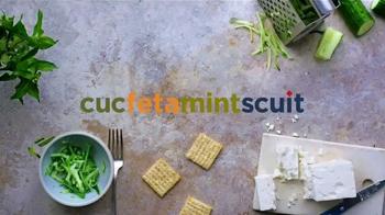 Triscuit TV Spot, 'CucFetaMintScuit' - Thumbnail 1