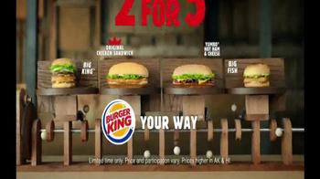 Burger King TV Spot, '2 for $5: Mix and Match' - Thumbnail 9