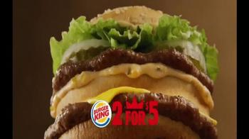 Burger King TV Spot, '2 for $5: Mix and Match' - Thumbnail 3
