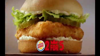 Burger King TV Spot, '2 for $5: Mix and Match' - Thumbnail 4