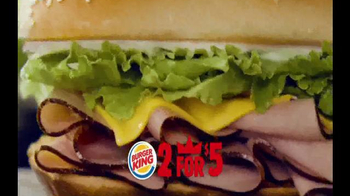 Burger King TV Spot, '2 for $5: Mix and Match' - Thumbnail 5