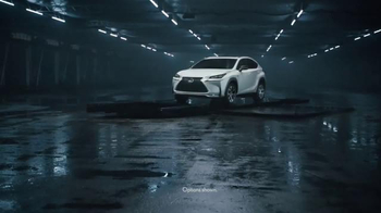 2015 Lexus NX TV Spot, 'Moving Bold Design to New Heights' - 952 commercial airings
