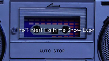 Pepsi TV Spot, 'Hyped for Halftime: The Tiniest Halftime Show Ever!' - Thumbnail 2