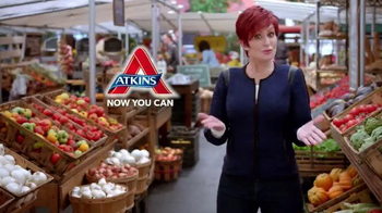 Atkins TV Spot, 'Market' Featuring Sharon Osbourne - Thumbnail 10