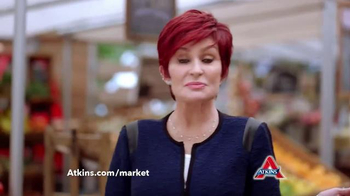 Atkins TV Spot, 'Market' Featuring Sharon Osbourne - Thumbnail 4