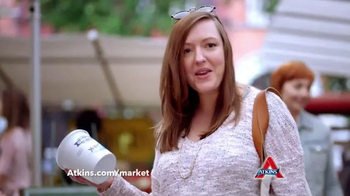 Atkins TV Spot, 'Market' Featuring Sharon Osbourne - Thumbnail 5