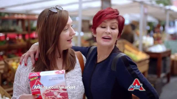 Atkins TV Spot, 'Market' Featuring Sharon Osbourne - Thumbnail 8