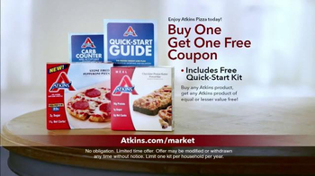 Atkins TV Spot, 'Market' Featuring Sharon Osbourne - Thumbnail 9