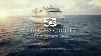 Princess Cruises 50th Anniversary Sale TV Spot, 'Join Us' - Thumbnail 2