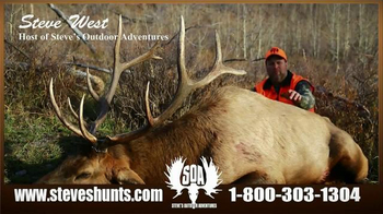 Steve's Outdoor Adventure TV Spot, 'Big Game Hunting and Fishing' - Thumbnail 9