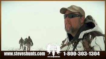 Steve's Outdoor Adventure TV Spot, 'Big Game Hunting and Fishing'