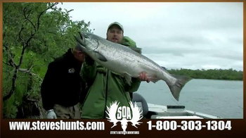 Steve's Outdoor Adventure TV Spot, 'Big Game Hunting and Fishing' - Thumbnail 4
