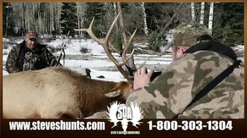 Steve's Outdoor Adventure TV Spot, 'Big Game Hunting and Fishing' - Thumbnail 5