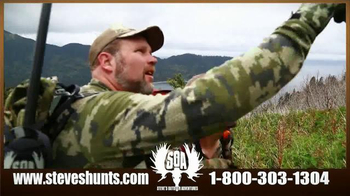 Steve's Outdoor Adventure TV Spot, 'Big Game Hunting and Fishing' - Thumbnail 6