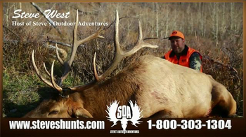 Steve's Outdoor Adventure TV Spot, 'Big Game Hunting and Fishing' - Thumbnail 8