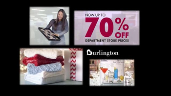 Burlington Coat Factory TV Spot, 'Home Essentials' - Thumbnail 9