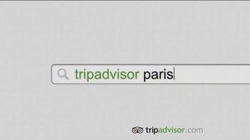 Trip Advisor TV Spot, 'Don't Just Visit Paris' - Thumbnail 4