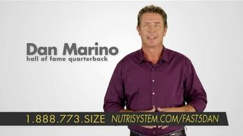 Nutrisystem Fast 5+ Kit TV Spot, 'No More Excuses' Featuring Dan Marino - 1284 commercial airings