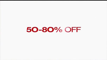 Macy's One Day Sale TV Spot, 'Save on Everything Storewide' - Thumbnail 3