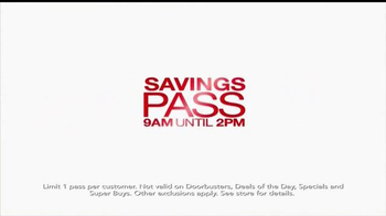 Macy's One Day Sale TV Spot, 'Save on Everything Storewide' - Thumbnail 6