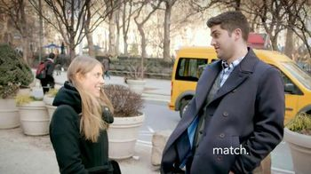 Match.com TV Spot, 'Match on the Street: Happily Ever After'