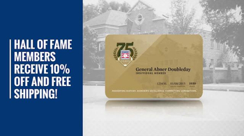 National Baseball Hall of Fame TV Spot, 'Holiday Shopping' - Thumbnail 6