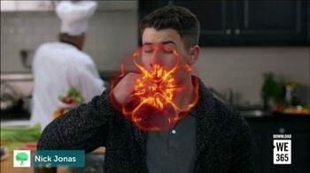 We365 TV Spot, 'Celebrity Challenges' Featuring Demi Lovato, Nick Jonas - Thumbnail 4