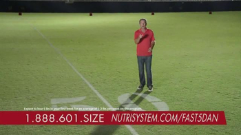 Nutrisystem Fast 5+ Kit TV Spot, 'Everyone Has a Number' Feat. Dan Marino - Thumbnail 10