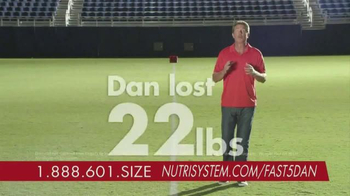 Nutrisystem Fast 5+ Kit TV Spot, 'Everyone Has a Number' Feat. Dan Marino - Thumbnail 3