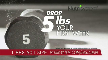 Nutrisystem Fast 5+ Kit TV Spot, 'Everyone Has a Number' Feat. Dan Marino - Thumbnail 4