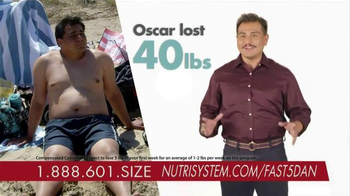 Nutrisystem Fast 5+ Kit TV Spot, 'Everyone Has a Number' Feat. Dan Marino - Thumbnail 6