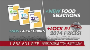 Nutrisystem Fast 5+ Kit TV Spot, 'Everyone Has a Number' Feat. Dan Marino - Thumbnail 9