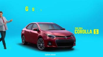 2014 Toyota Corolla S TV Spot, 'Places' - Thumbnail 3