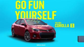2014 Toyota Corolla S TV Spot, 'Places' - Thumbnail 4