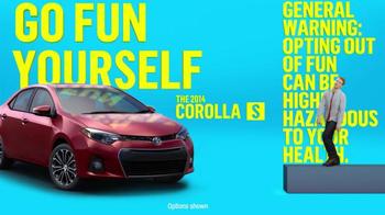 2014 Toyota Corolla S TV Spot, 'Places' - Thumbnail 5