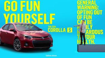 2014 Toyota Corolla S TV Spot, 'Places' - Thumbnail 6
