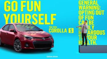 2014 Toyota Corolla S TV Spot, 'Places' - Thumbnail 7