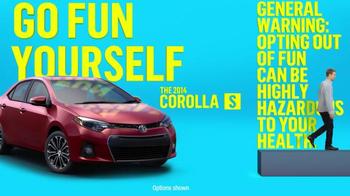 2014 Toyota Corolla S TV Spot, 'Places' - Thumbnail 8