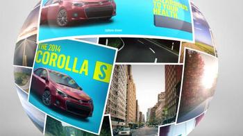 2014 Toyota Corolla S TV Spot, 'Places' - Thumbnail 9