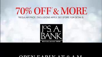 JoS. A. Bank TV Spot, '70% Off Suits, Sportcoats' - Thumbnail 10