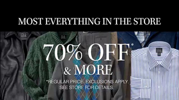 JoS. A. Bank TV Spot, '70% Off Suits, Sportcoats' - Thumbnail 2