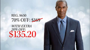 JoS. A. Bank TV Spot, '70% Off Suits, Sportcoats' - Thumbnail 6