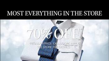 JoS. A. Bank TV Spot, '70% Off Suits, Sportcoats' - Thumbnail 7